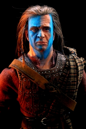 "Braveheart : William Wallace 12"" Mgbravehrt6"