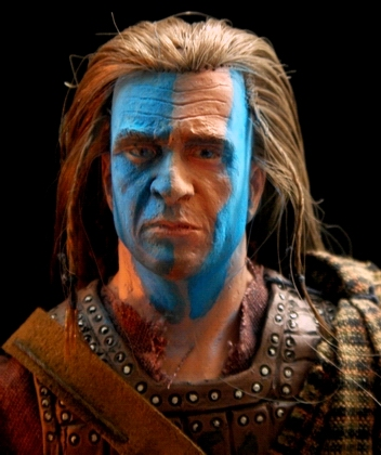 "Braveheart : William Wallace 12"" Mgbravehrt7"