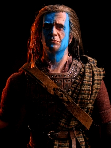 "Braveheart : William Wallace 12"" Mgbravehrt8"